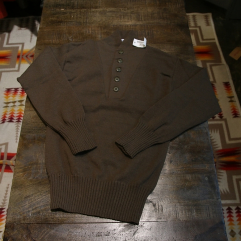 us army 5 button sweater