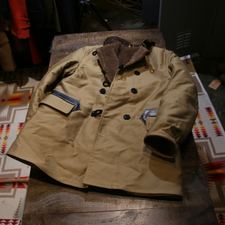 sugar cane deck coat