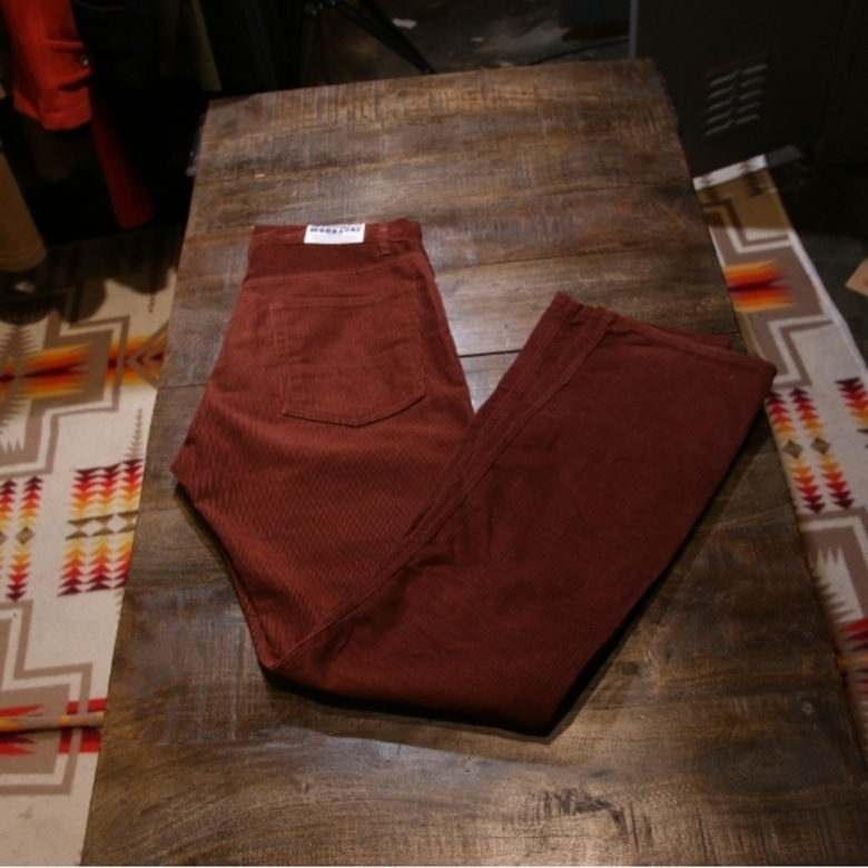 engineered garments coduroy workaday pants