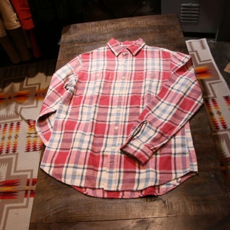 RRL flannel shirt