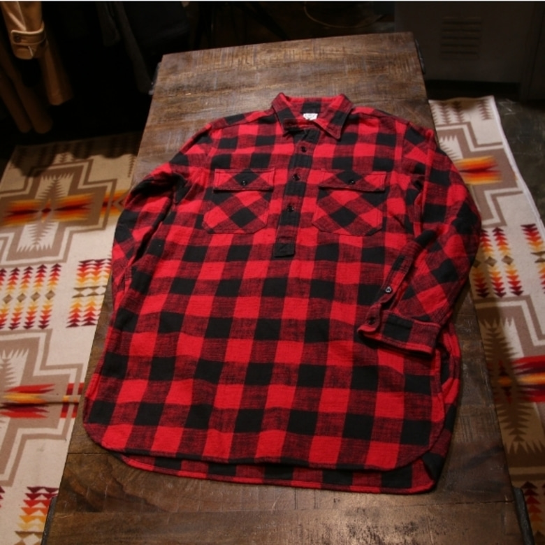 s2w8 buffalo check shirt