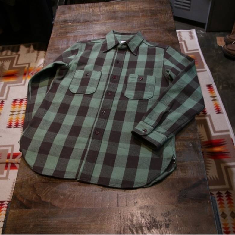 warehouse flannel check shirt