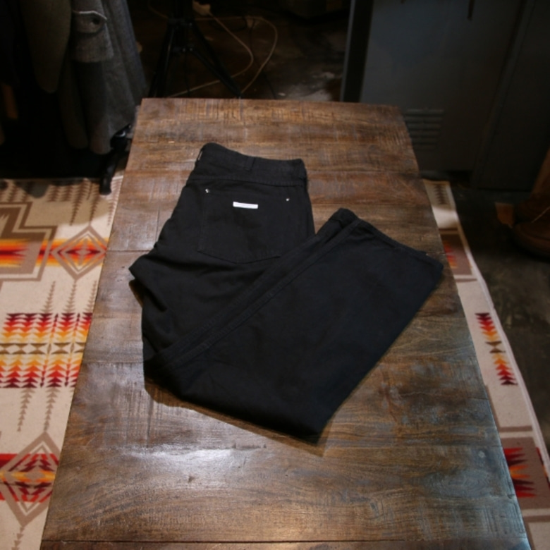 engineered garments black work pants