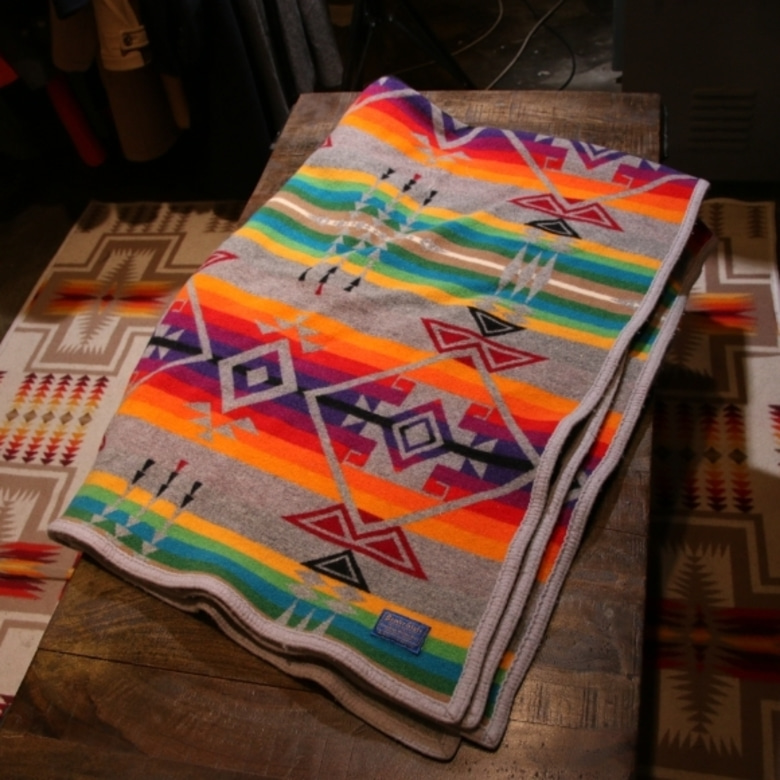 beaver stage pendleton wool blanket