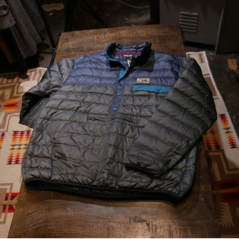 PATAGONIA EXCLUSIVE DOWN SNAP-T