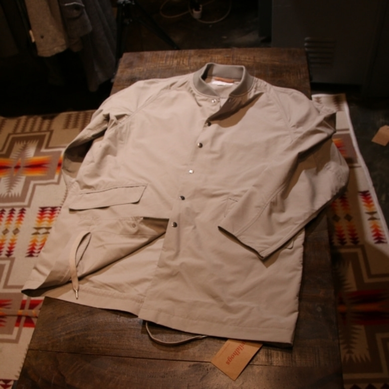 nanamica ground coat