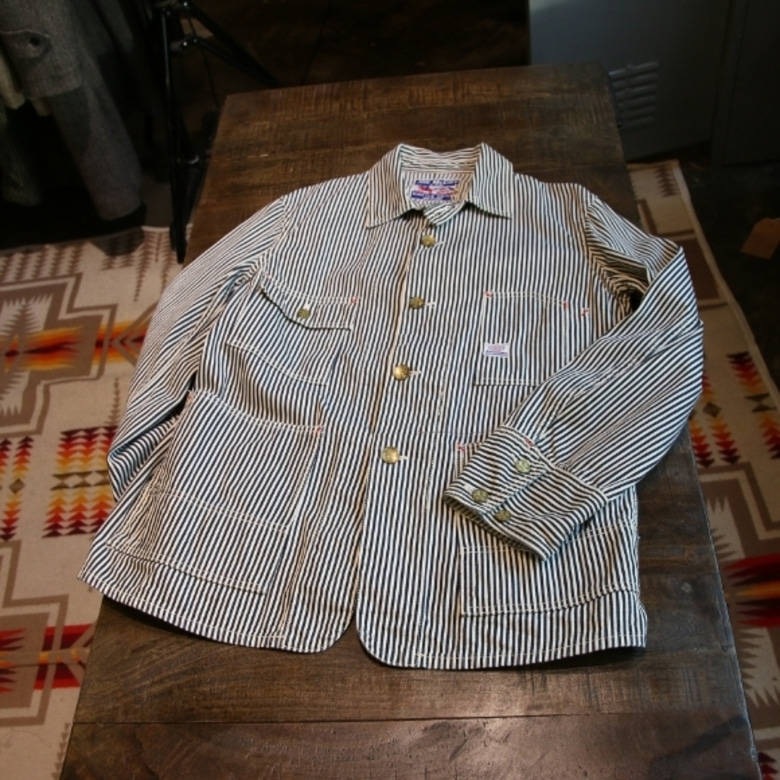 joe mccoy hickory coverall jacket