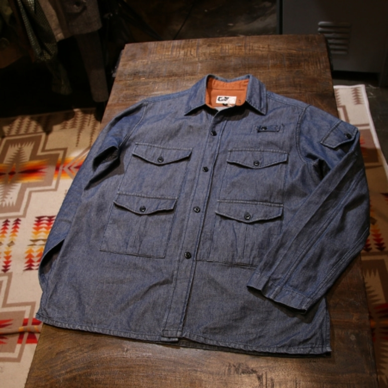 engineered garments pocket shirt jacket