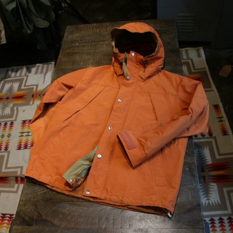 sophnet 60/40 orange mountain parka