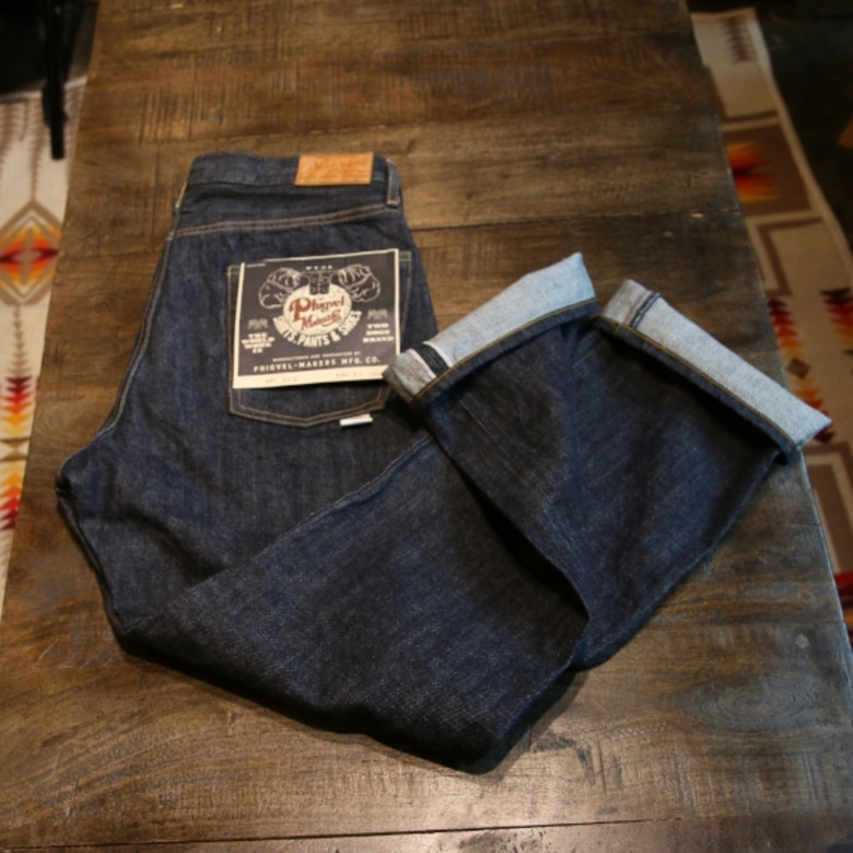 phigvel mobsman 302 selvage denim pants