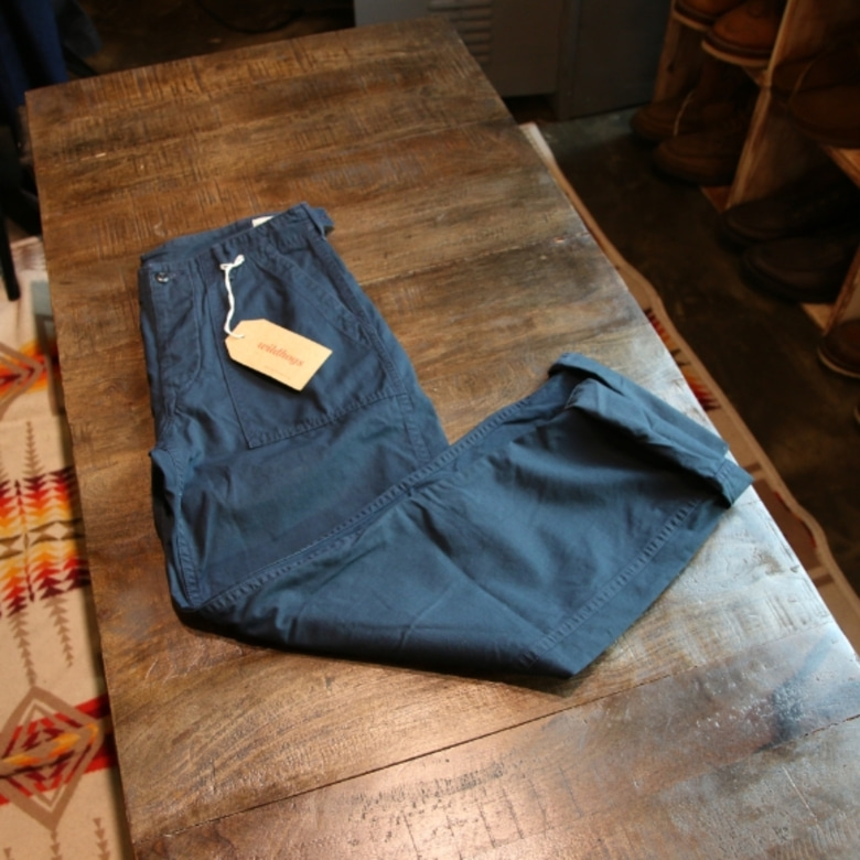 orslow ripstop fatigue pants