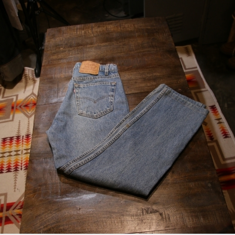 levis 90s made in usa 505 denim pants(32)