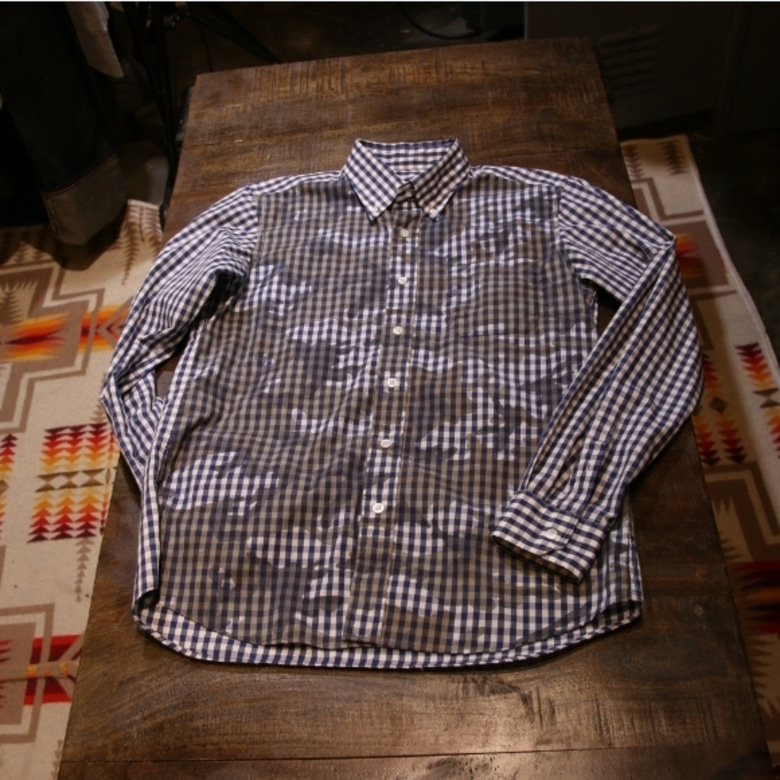sophnet CAMOUFLAGE OVER PRINT B.D SHIRT