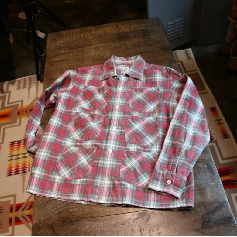 s2w8 6 pocket check shirt