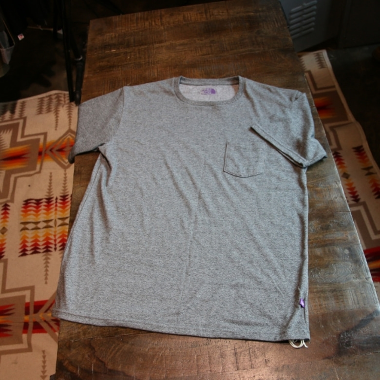 THE NORTH FACE PURPLE LABEL pocket tee