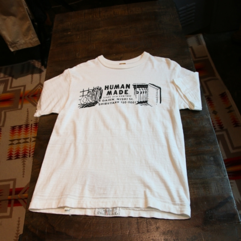 human made address print tee