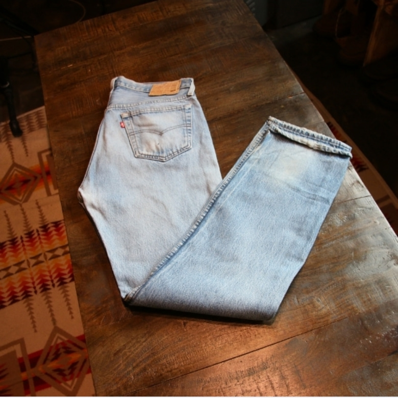 80s levis 501-0115 denim pants (33-34)