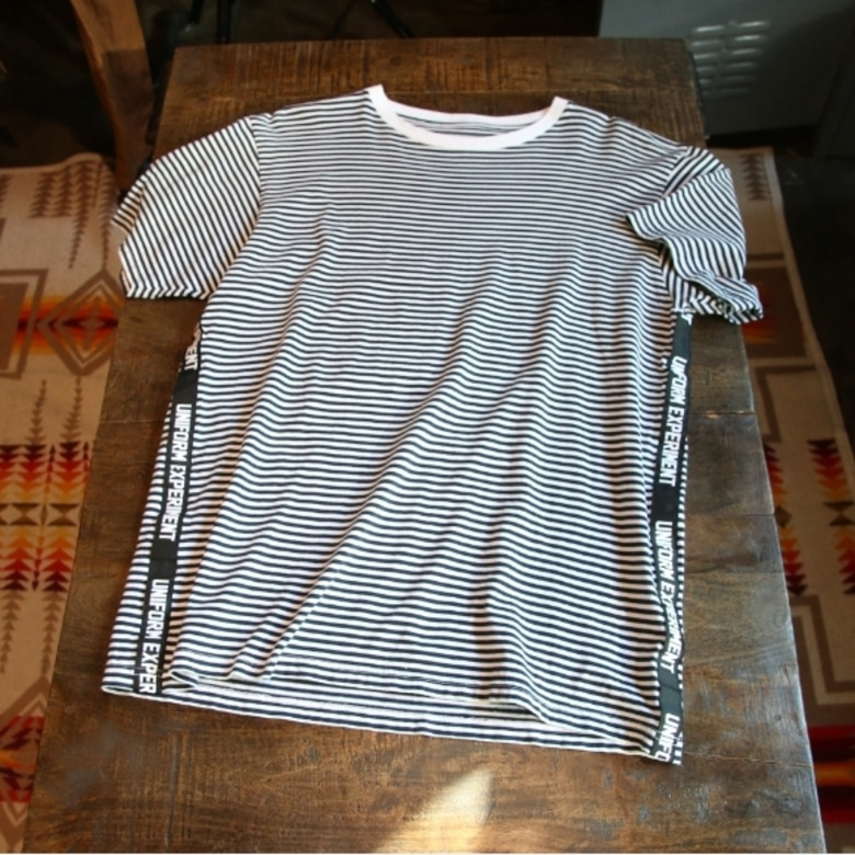 uniform experiment BORDER TAPE LINE TEE