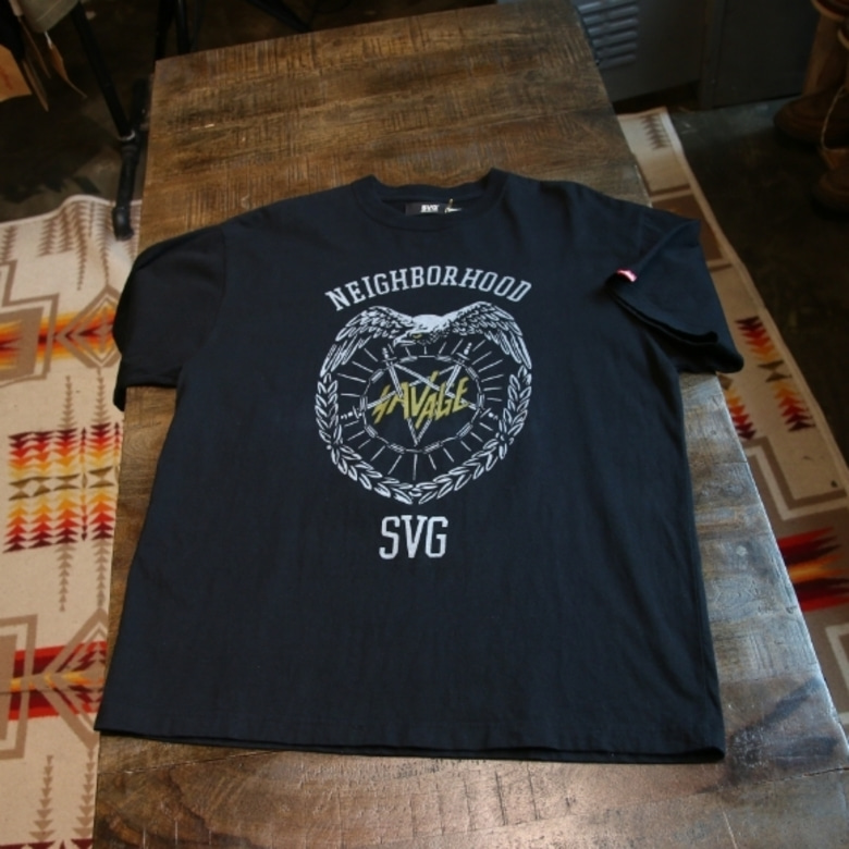 svg by neighborhood print tee