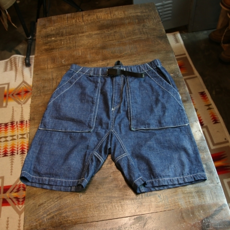 manastash denim hemp shorts