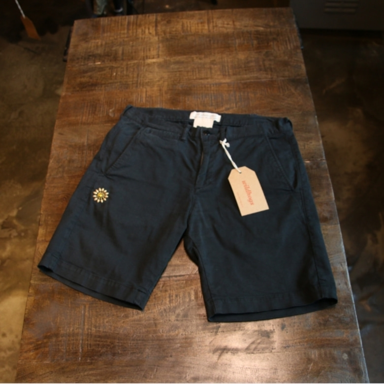 remi relief black shorts