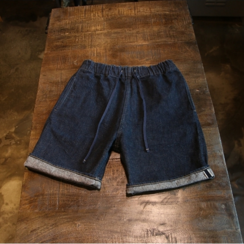 nigel cabourn selvage denim shorts