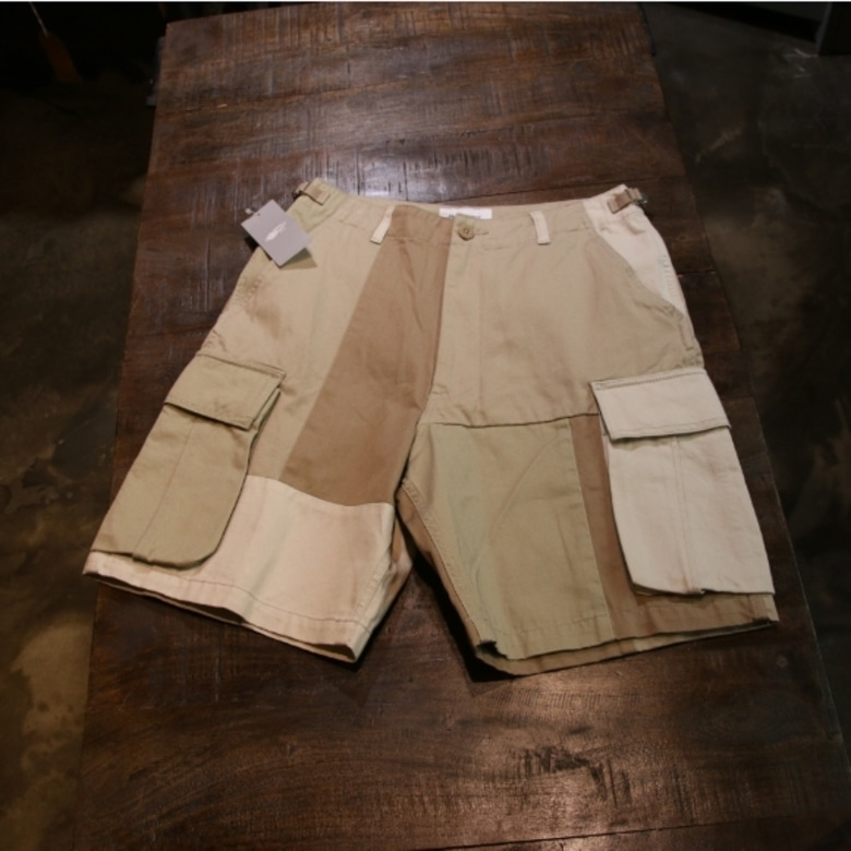 beams boy crazy 6 pocket shorts beige