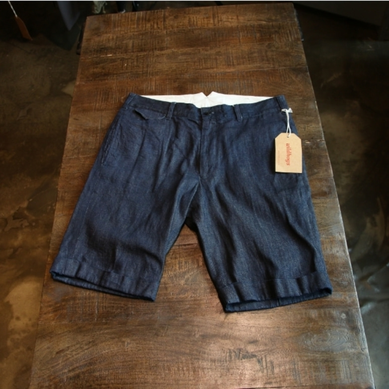 scye denim shorts