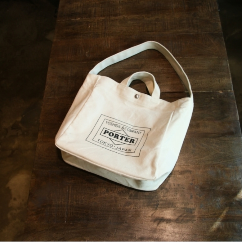 porter x urban research tote bag
