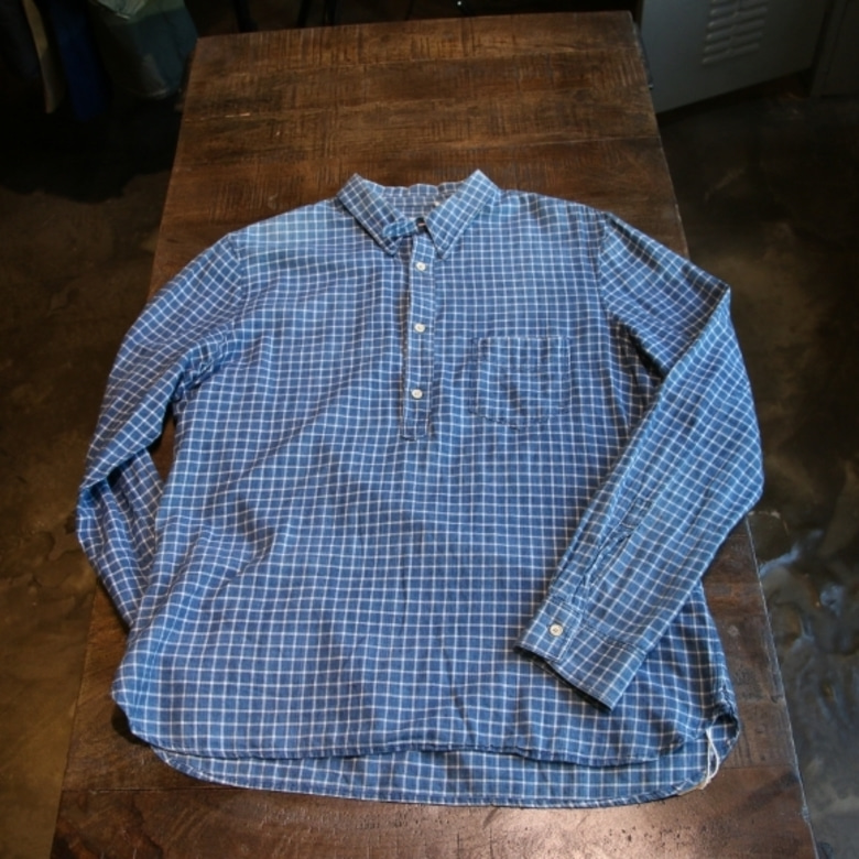 levis lvc sunset pullover shirt