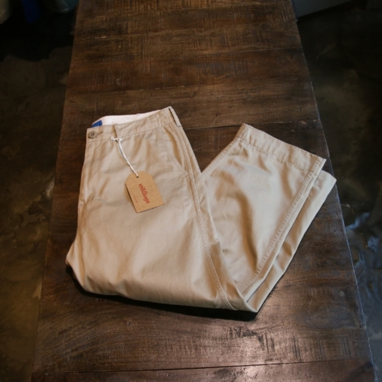 beams wide chino pants