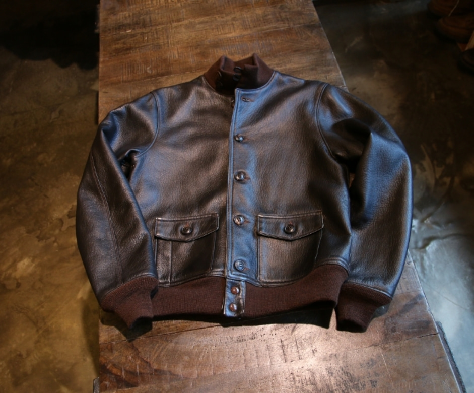 the realmccoys a-1 deer skin jacket (40)
