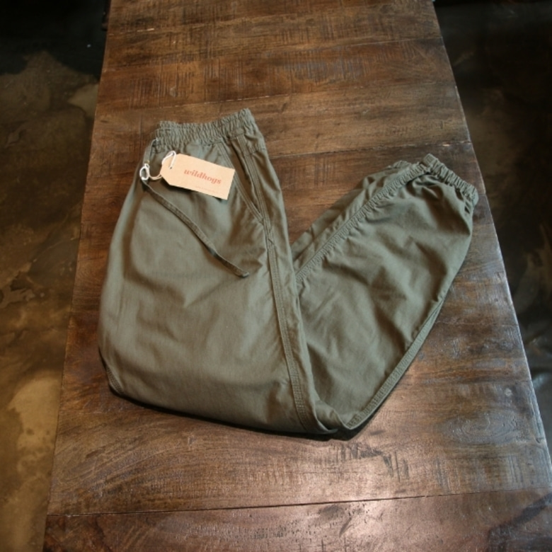 needles khaki ripstop jogger pants