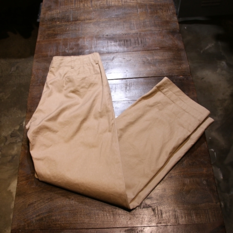 eigineered garments beige chino pants