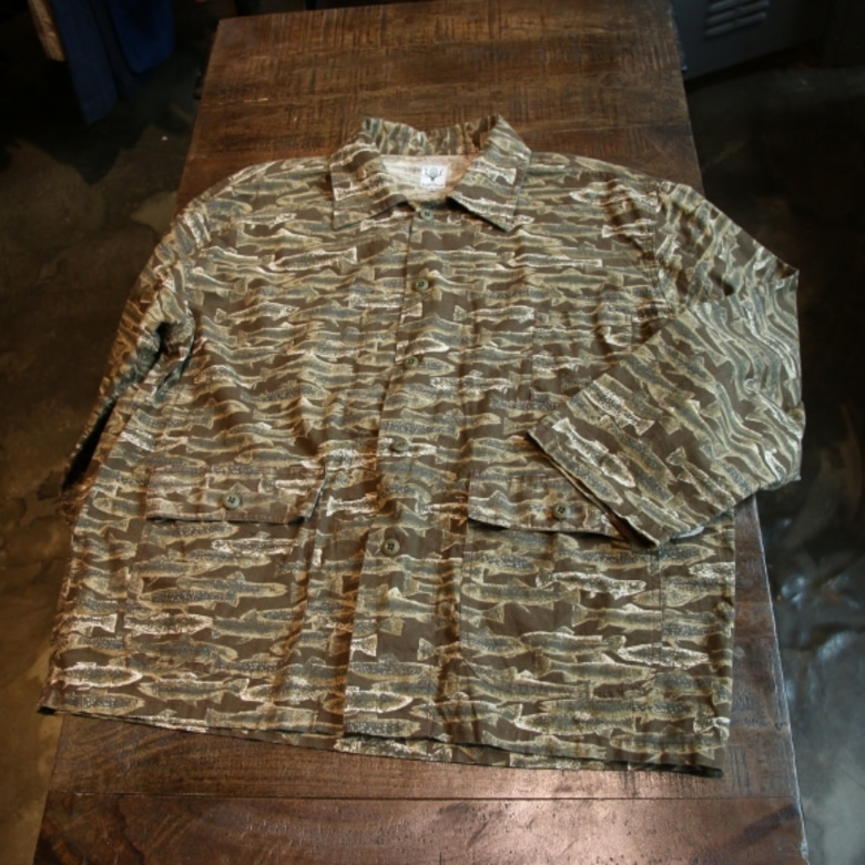 s2w8 fish pattern jacket