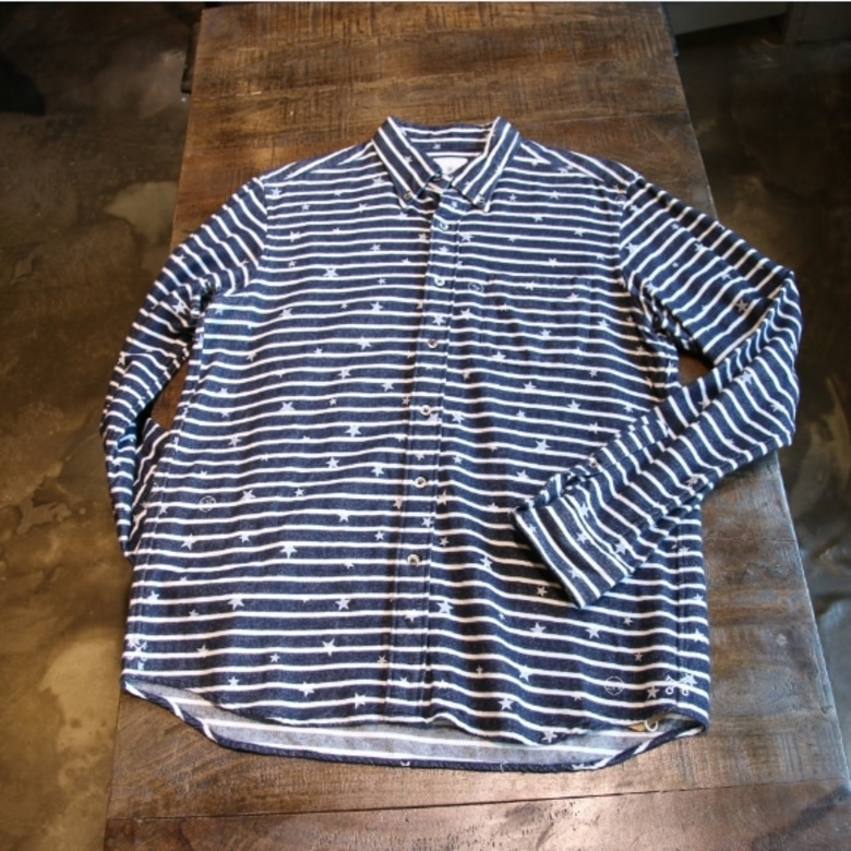 uniform experiment stripe shirt