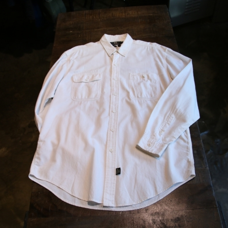 RRL white work shirt