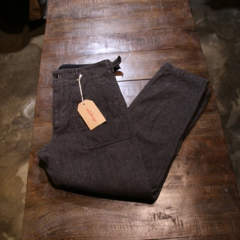 engineered garments grey fatigue pants