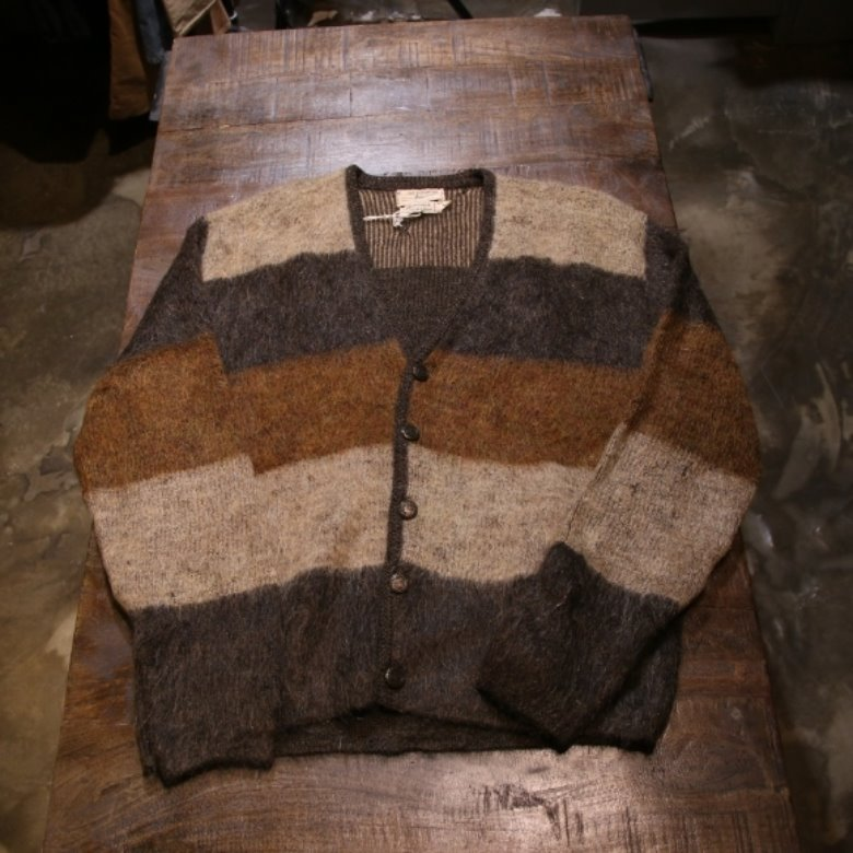 60s vintage mohair cardigan