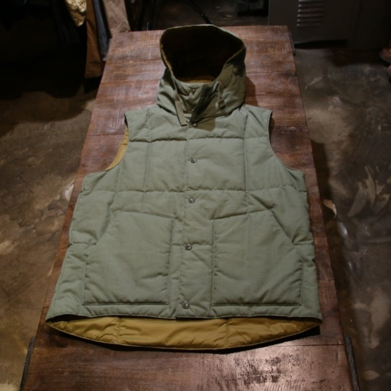 engineered garments primaloft vest