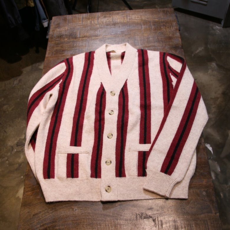 the stylist japan x kolor wool cardigan