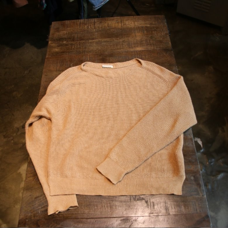 OLD JOE BOAT NECK WASHI SWEATER
