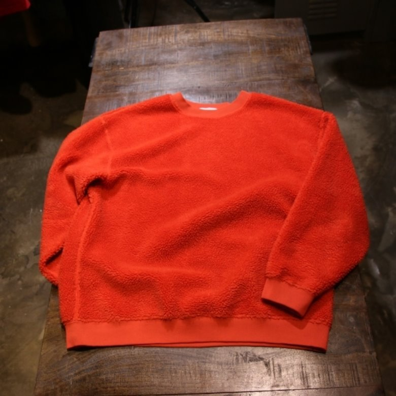 beauty & youth fleece sweat shirt