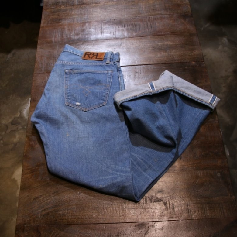 RRL selvage denim pants (32)