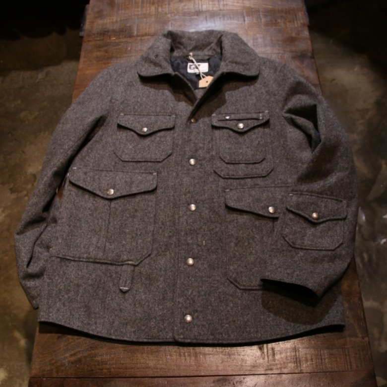 engineered garments wool cruiser jacket