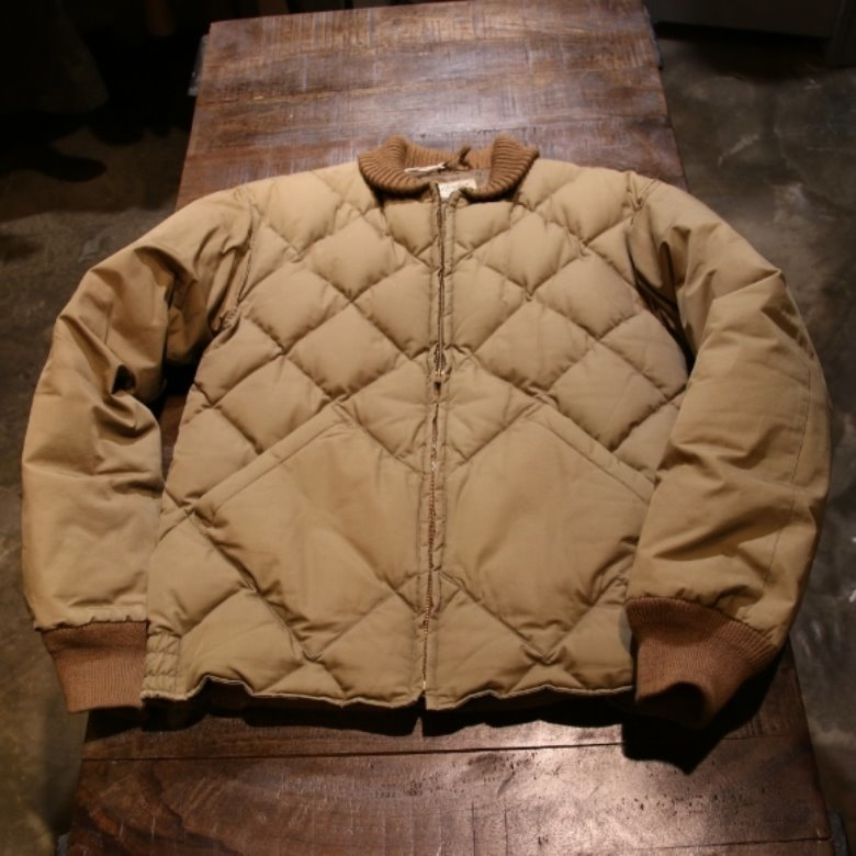warehouse bodies alaskan down coat