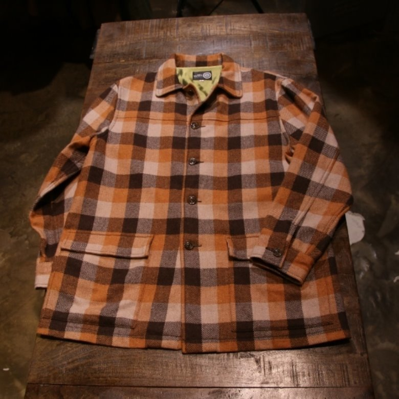 s2w8 wool check jacket