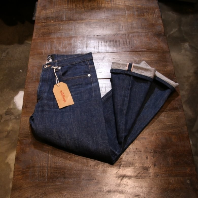 A.P.C. new standard selvage denim pants (30)