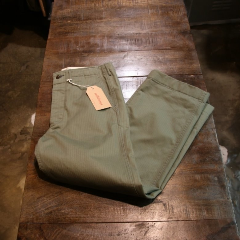 black sign HBT chino pants