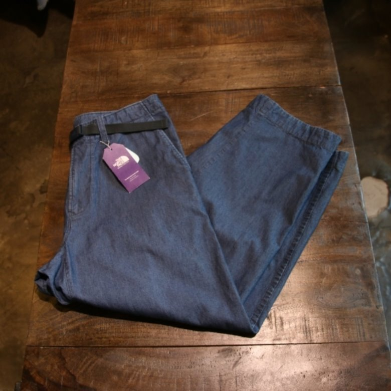 the north face indigo chambray mountain field pants